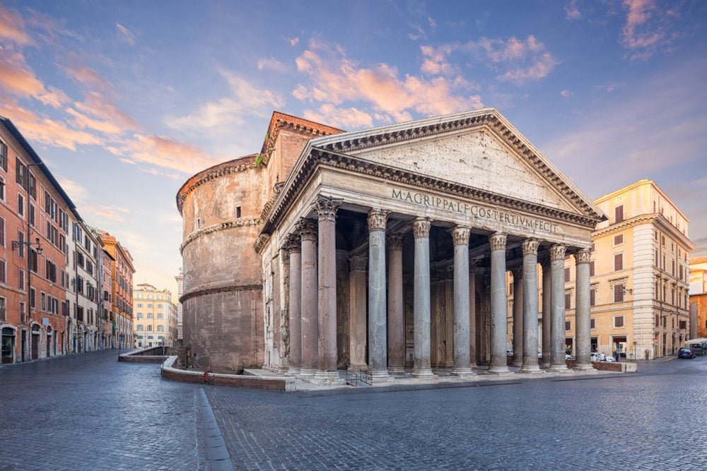 Visit the Pantheon in Rome