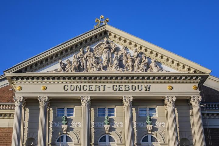 Concertgebouw em amesterdão - holanda