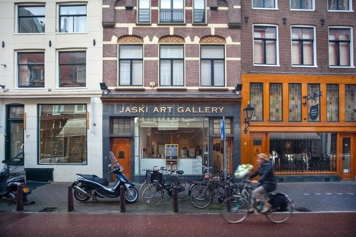 Nieuwe Spiegelstraat in amsterdam