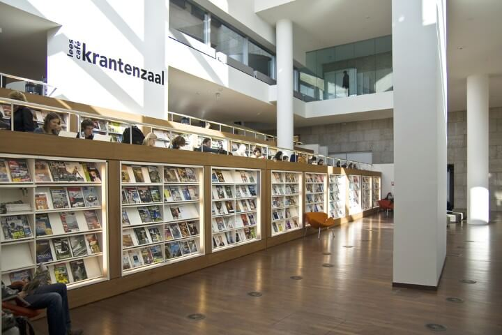 OPENBARE BIBLIOTHEEK library in amsterdam