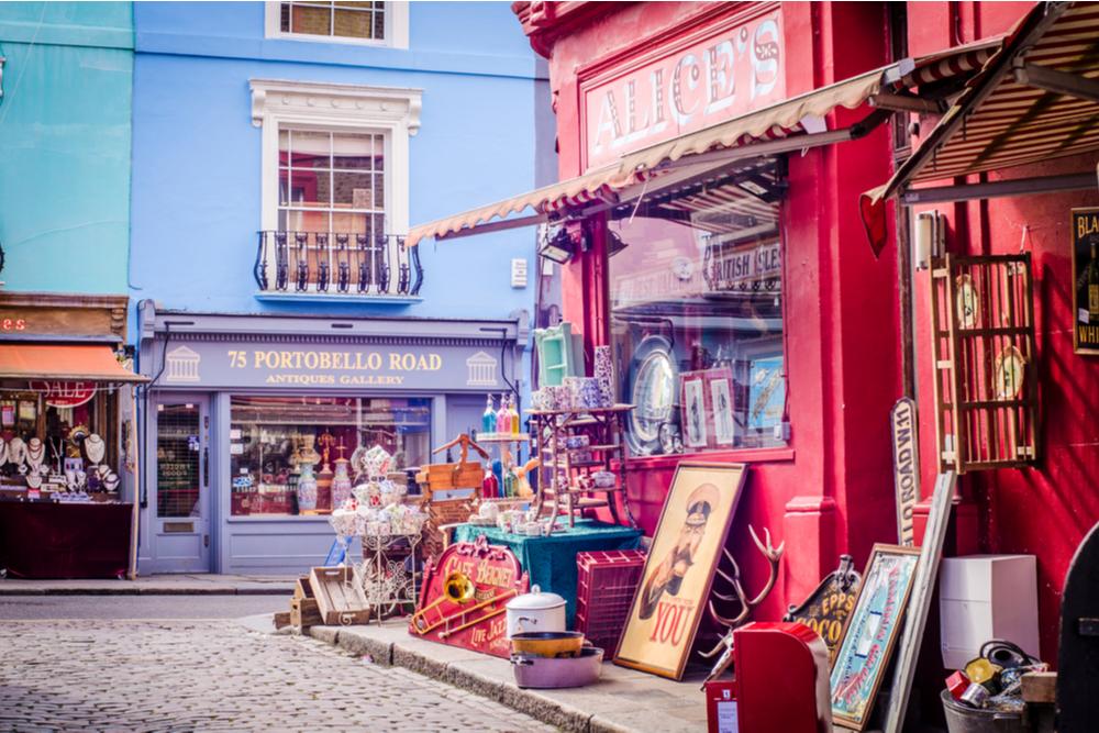 Antiques on Portobello Road