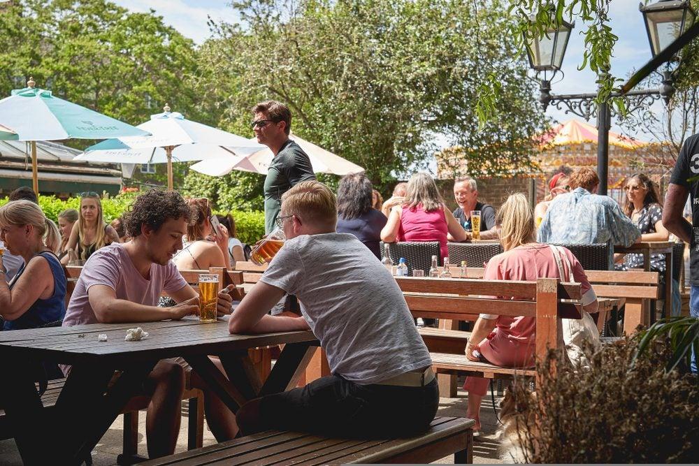 London Beer Garden