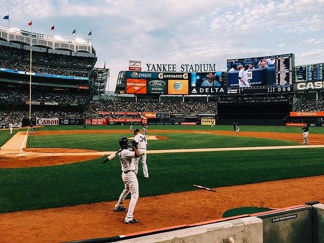 baseball sports event usa