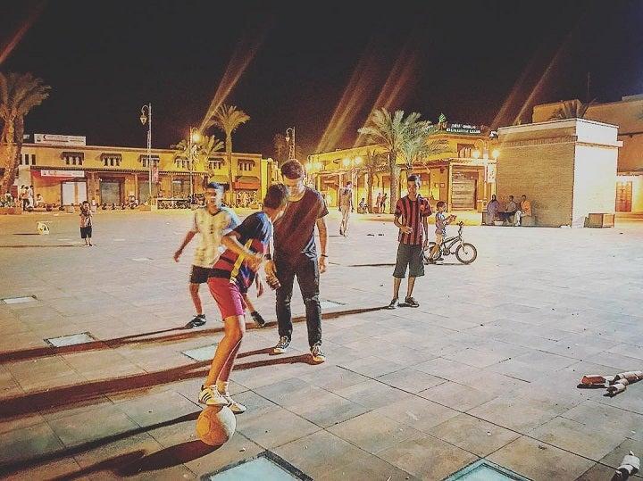 Tommy Walker - Street football in Marrakesh, Morocco