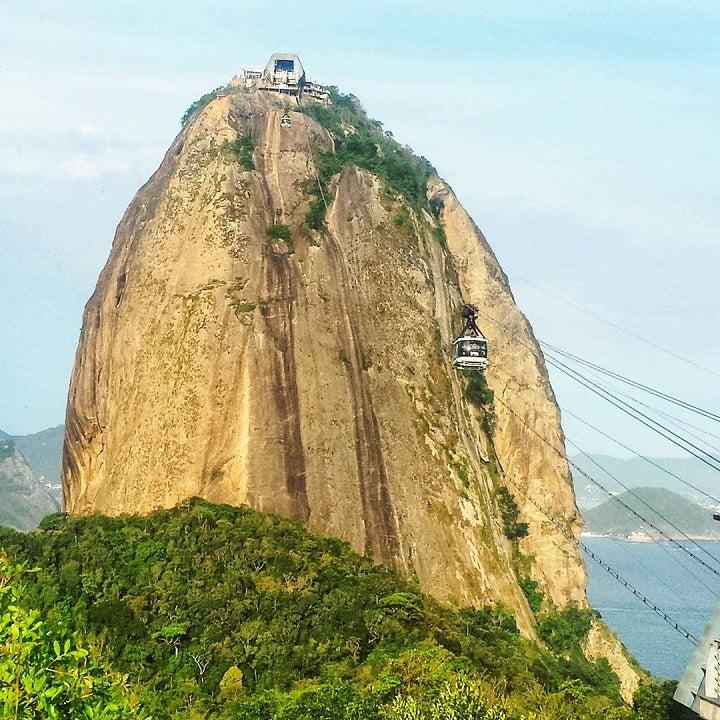 Sugarloaf Mountain in Rio de Janeiro - brazil - barcelona blonde