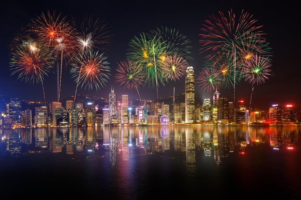 New years eve at Hong Kong
