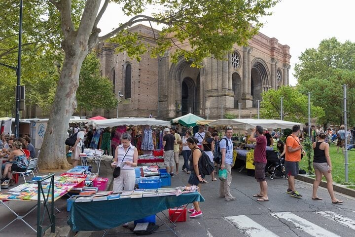 Aubins Market in Toulouse