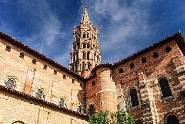 Saint Sernin Basilica in Toulouse