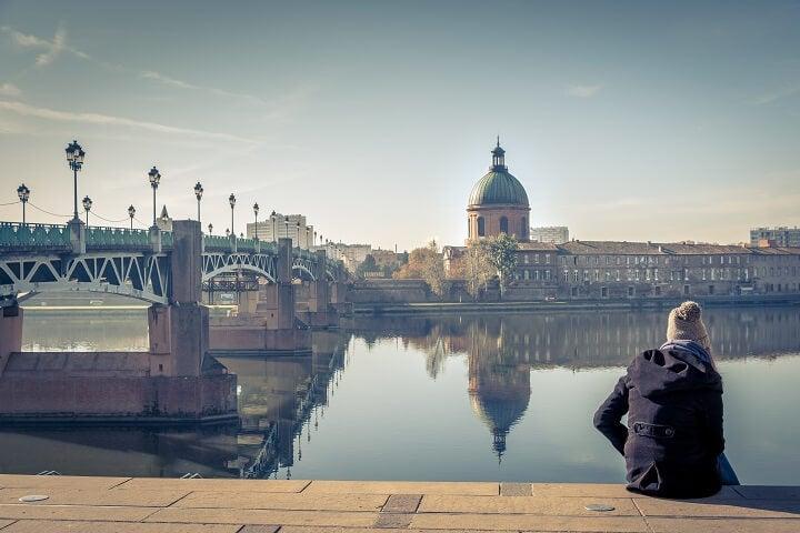 Toulouse Saint Pierre Bridge