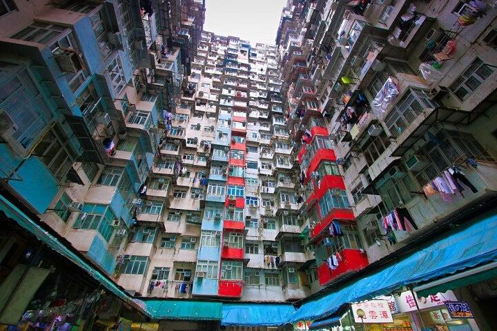 monters building - hong kong
