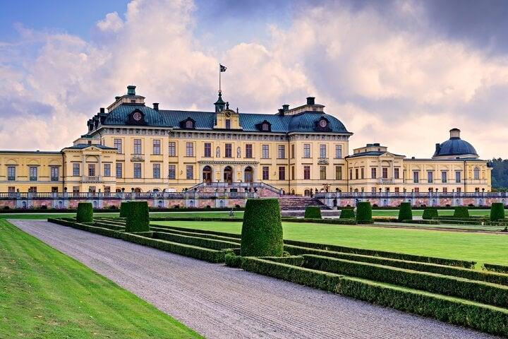 Drottningholm Palace at stockholm