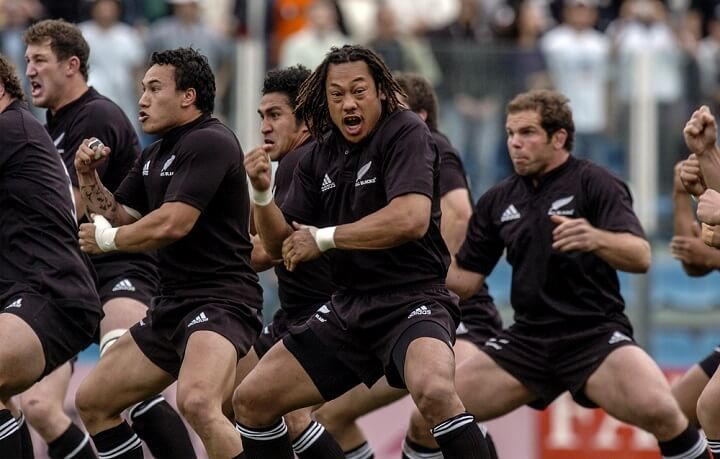 all blacks in auckland - new zealand