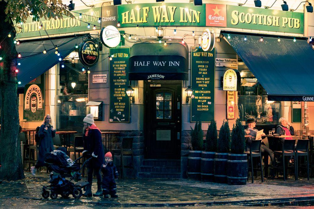 A pub in Stockholm's Södermalm district