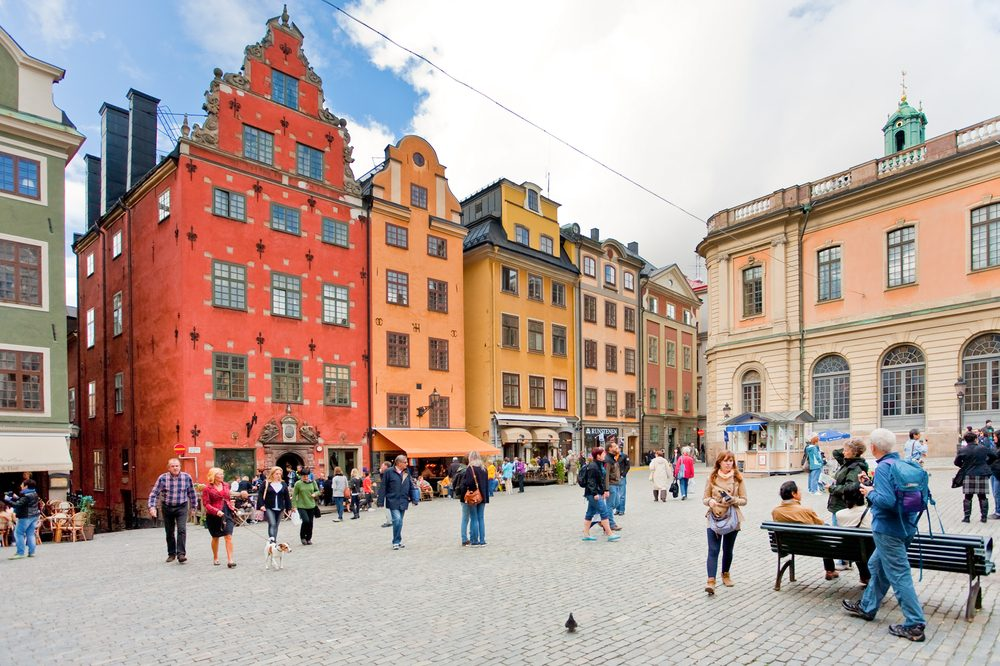 Gamla Stan Old Town of Stockholm