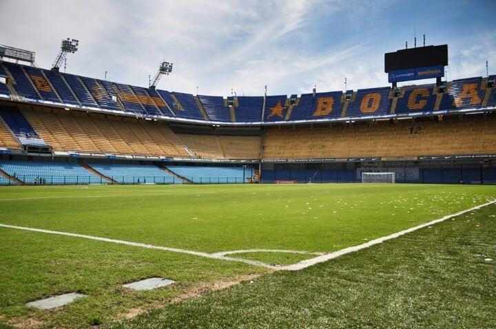 la bombonera stadium in buenos aires - argentina