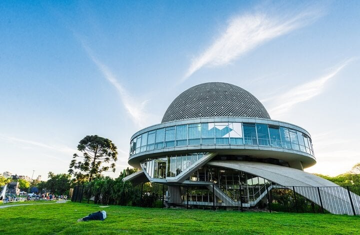planetarium in buenos aires - argentina