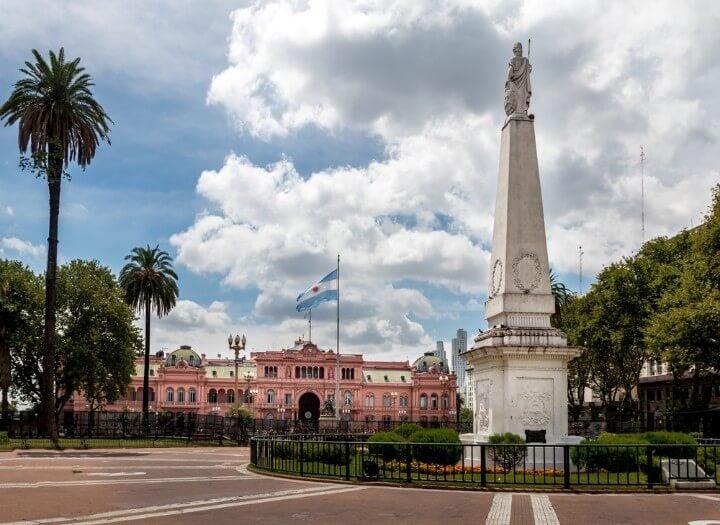 plaza de mayo in buenos aires - argentina
