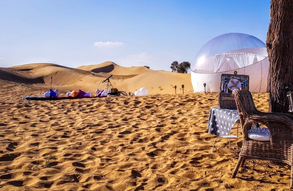 The Starlight Camp, Dubai desert