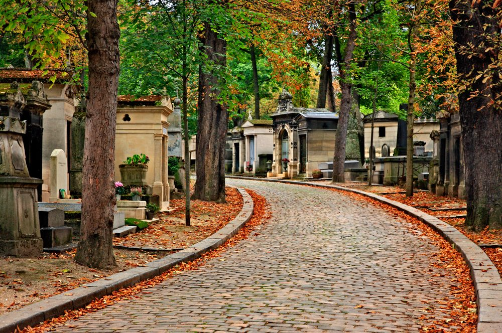 Père Lachaise Cemetery, iconic place in Paris