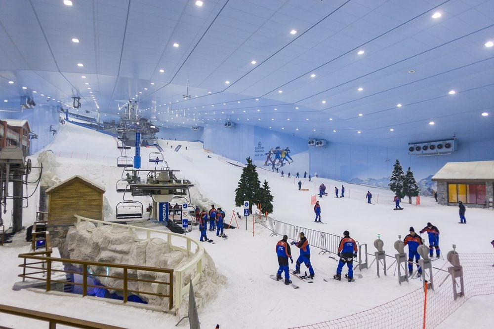 Fun things to do in Dubai: Ski