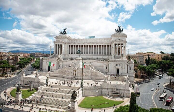 Altare della Patria in rome - italy