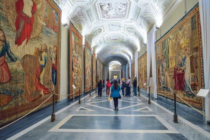 Vatican Museum in rome - italy