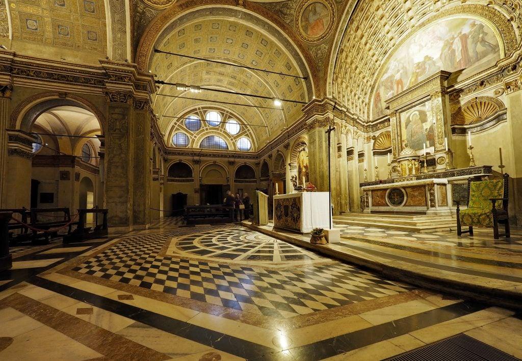 San Satiro Church in Milan