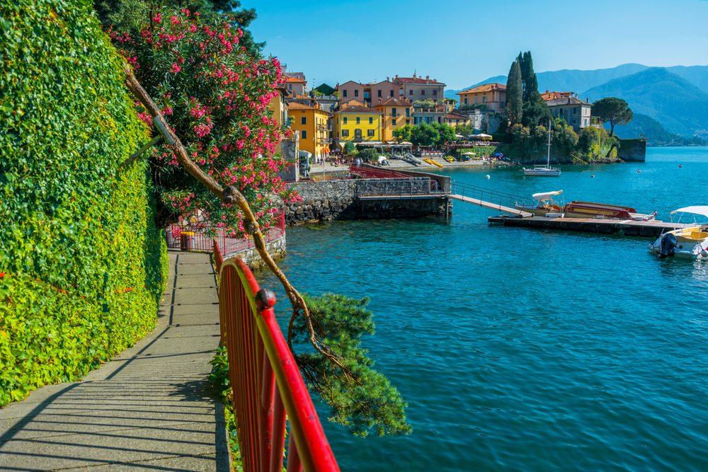 Lake Como near Milan