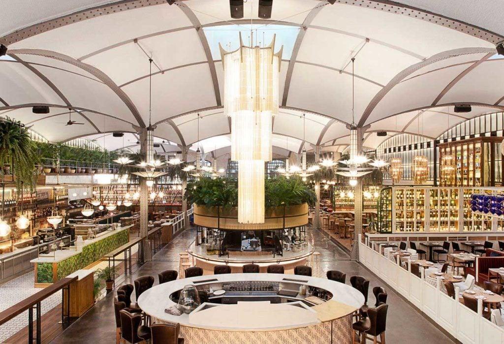 El Nacional restaurant interior
