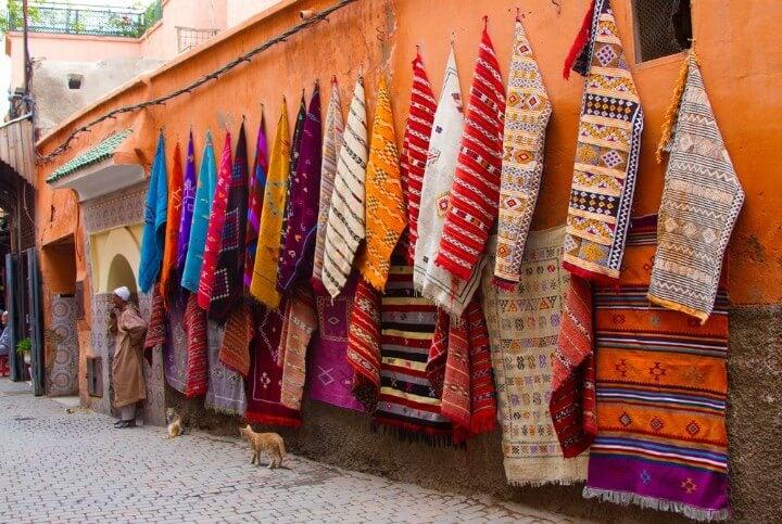 Berber Rugs of Marrakech in morocco