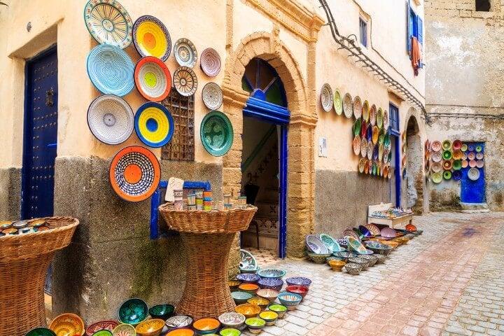 ceramic works in morocco