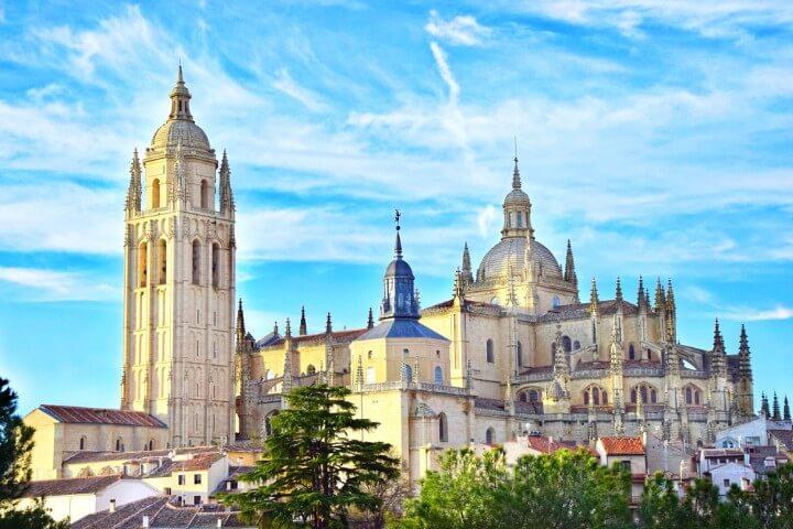 Cathedral of Santa Maria de Segovia. Castilla y Leon - Spain
