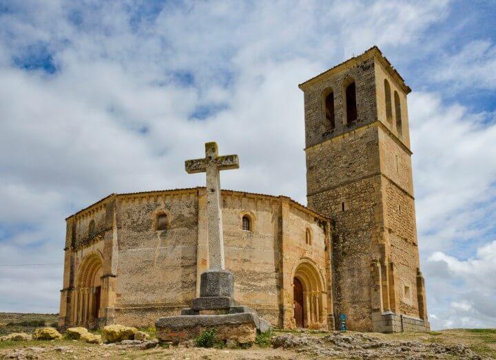 church of Vera Cruz in segovia - spain