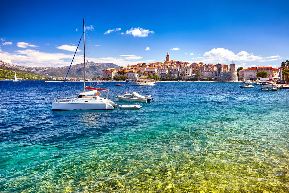 Korcula Croatian island