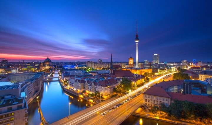 berlin view - germany