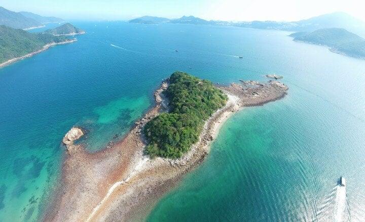 sai kung - sharps island - hong kong