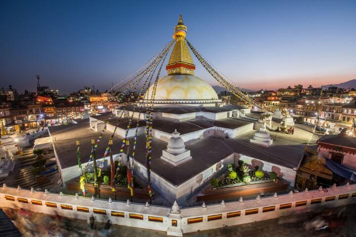 Boudhanath in nepal