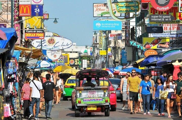 Khao San Road - bangkok - thailand