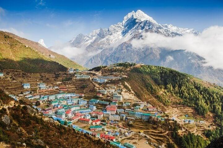 Namche Bazar - Khumbu district - Himalayas - Nepal