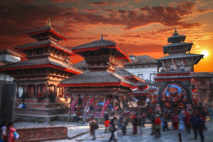 Patan - Ancient city in Kathmandu Valley - Nepal