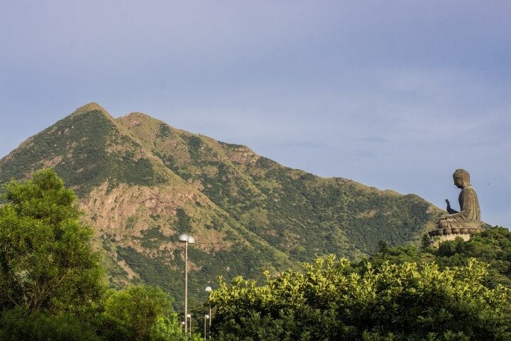 high lantau peak in hong kong