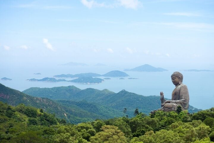 lantau island in hong kong