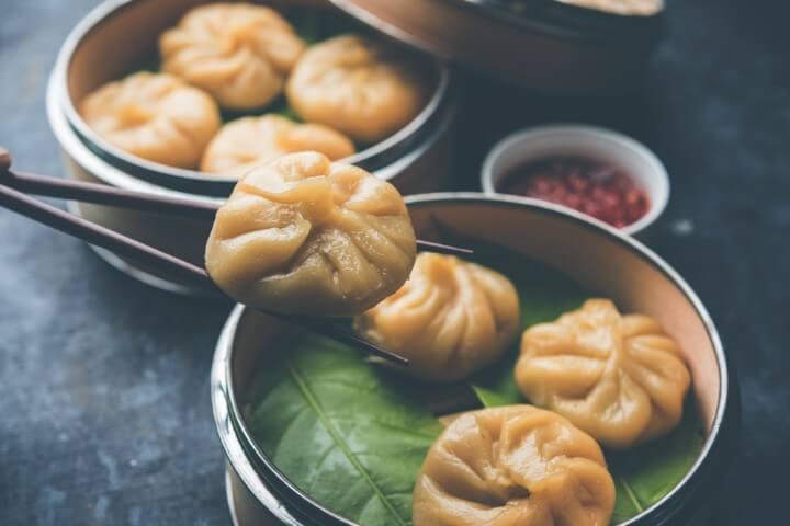 momos nepal food