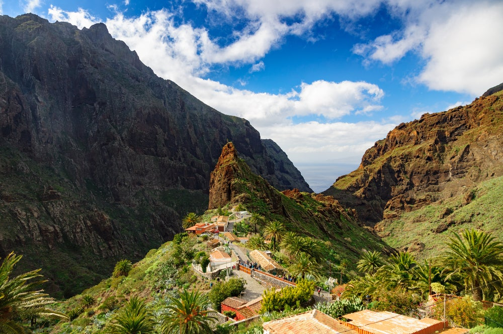The Masca Valley in Tenerife