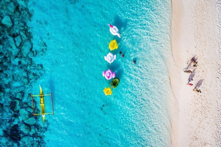 boracay from above
