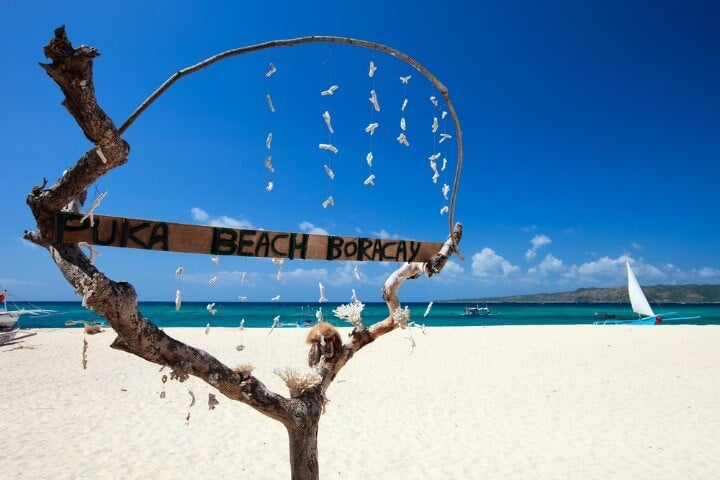island puka shell beach - boracay