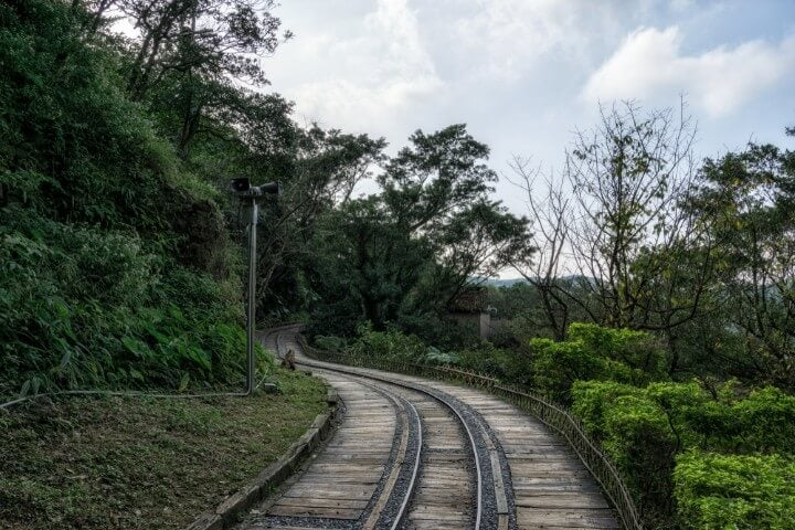 Golden Ecological Park - Jinguashi - abandoned railroad in taiwan