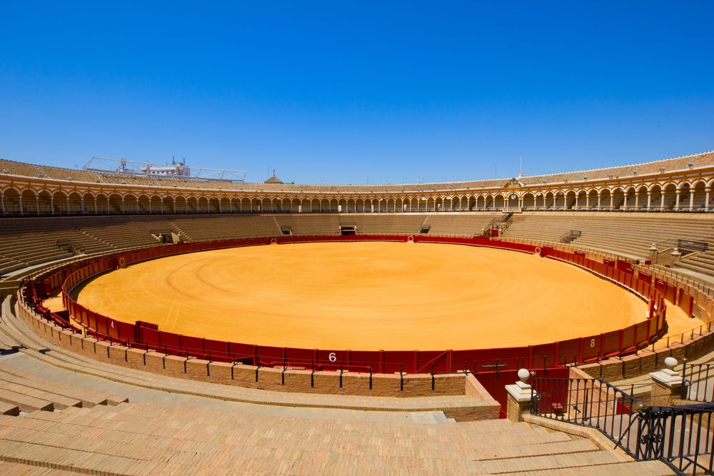 Bull fighting Arena in Osuna, Seville