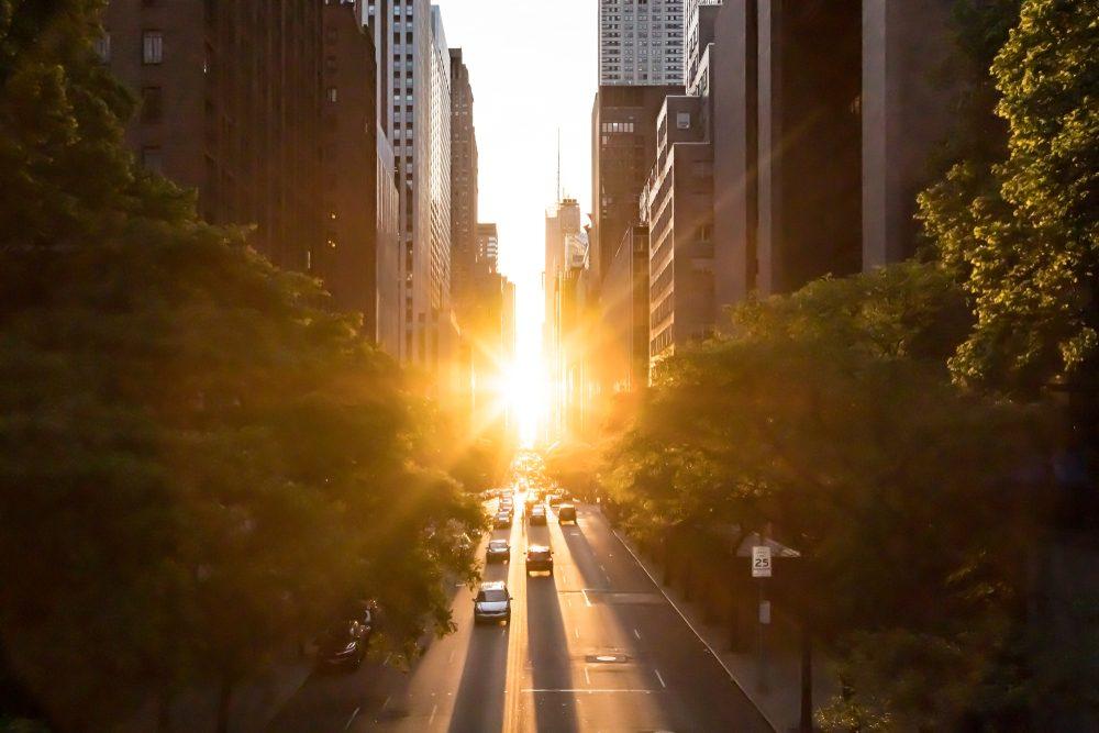 Sunset of Manhattanenge