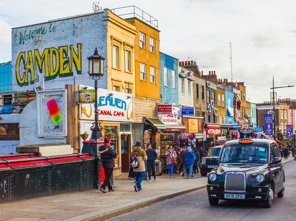 Camden Town in London